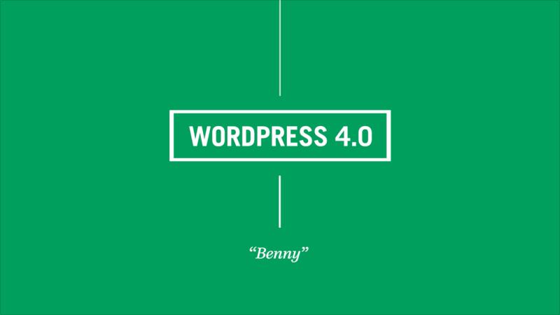 nuevo WordPress 4.0