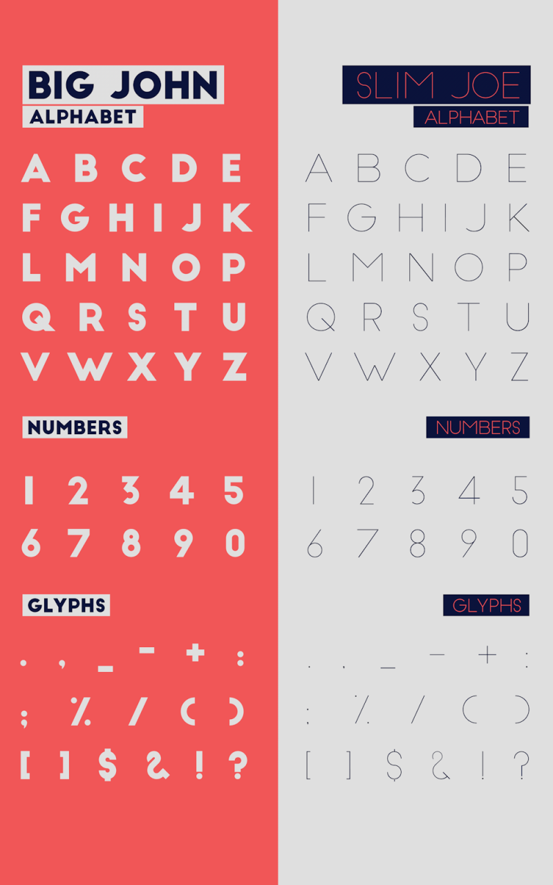 contrast font 4