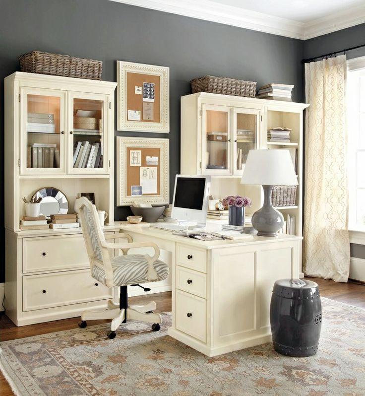 20 fotos de oficinas en casa para inspirarte a montar - Montar un servidor en casa ...