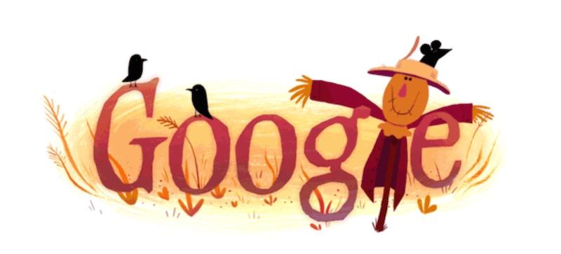 google doodle halloween 1
