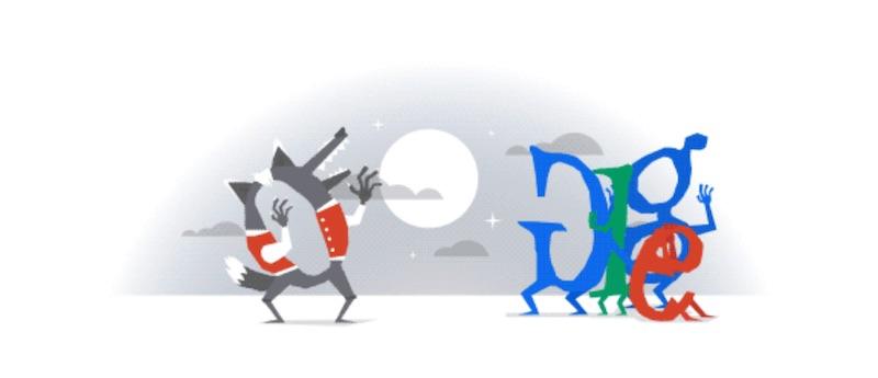 google doodle halloween 2