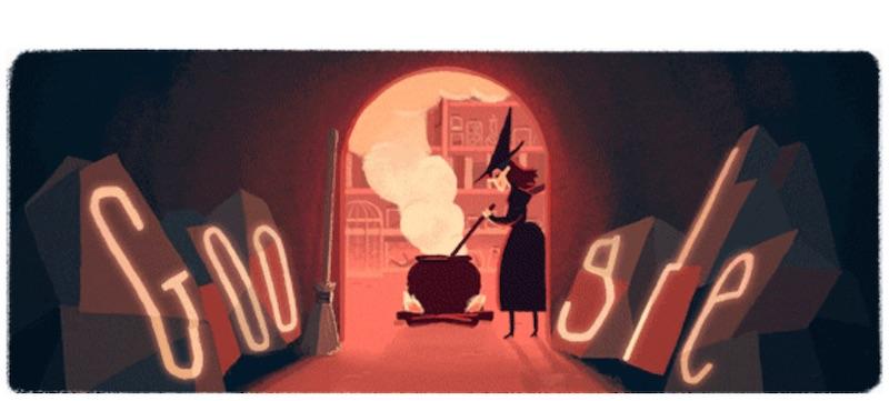 google doodle halloween 3