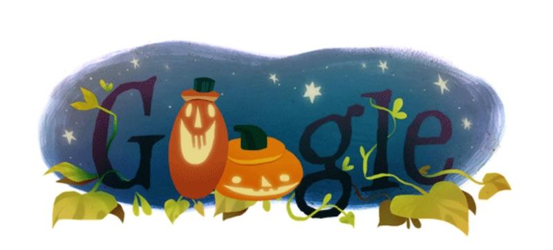 google doodle halloween 4