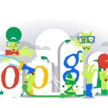 google doodle halloween 5