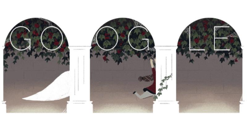 google doodle halloween 6