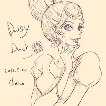 ilustraciones humanas daisy