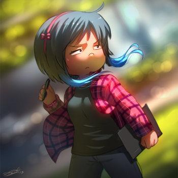 ilustraciones personajes por dfer 11