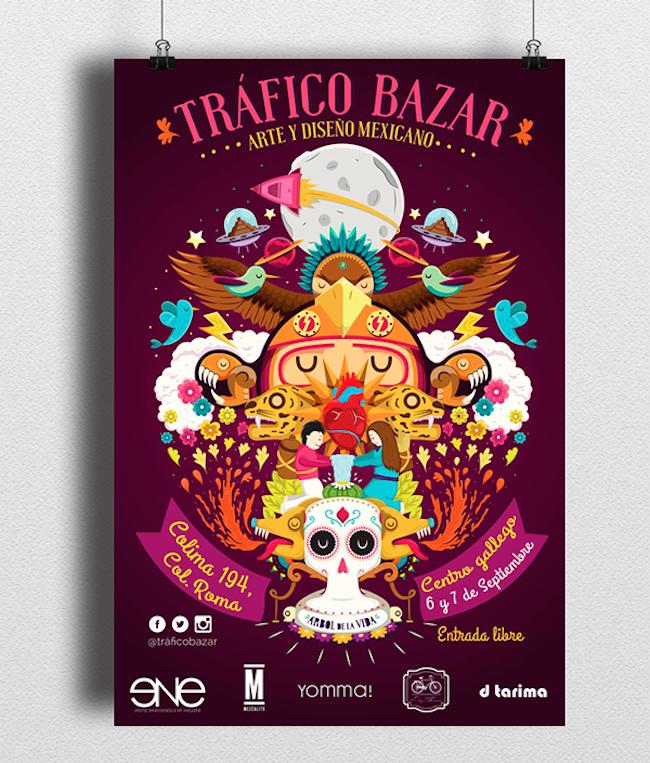 ilustraciones trafico bazar 6