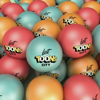lost toons city branding elementos