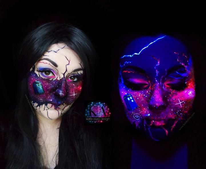 15 Ideas De Maquillaje Para Disfrazarte En Halloween