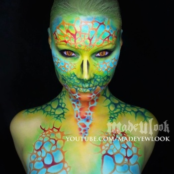 maquillaje halloween 9