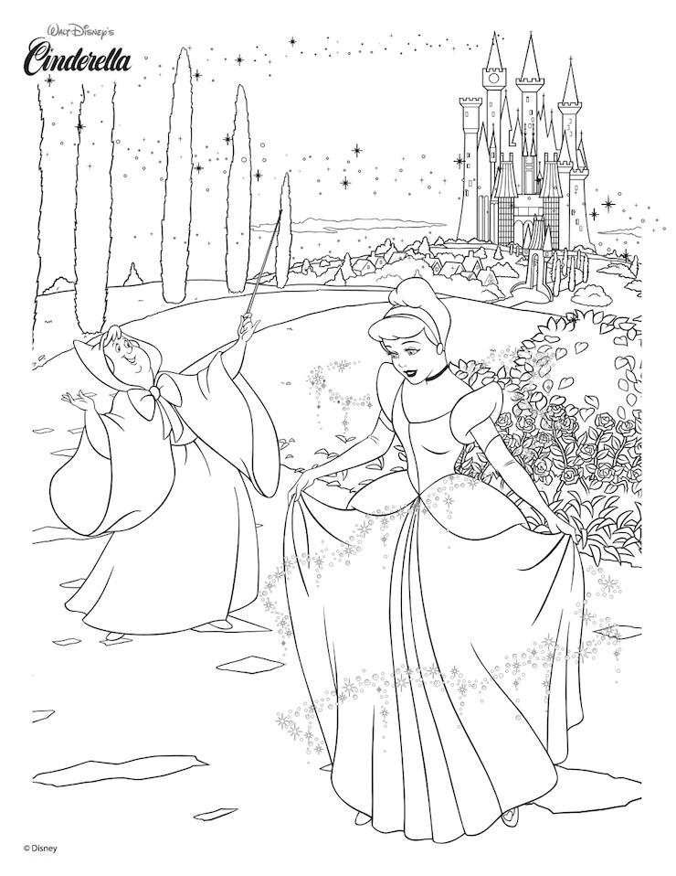 Plantillas de dibujos de personajes de Disney para co... - Frogx Three
