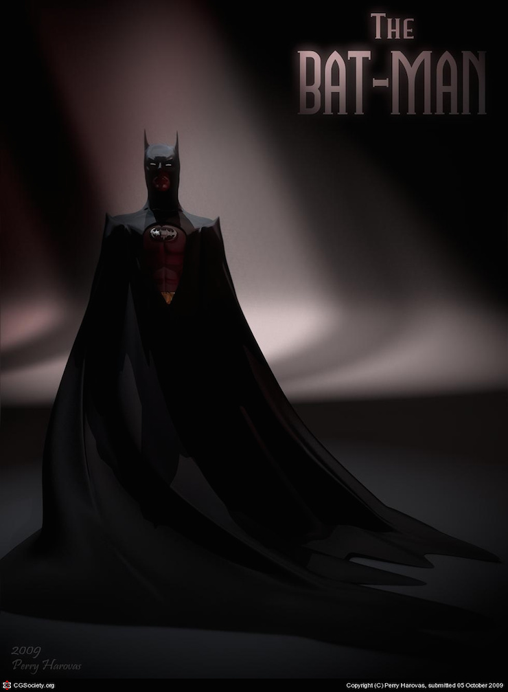Batman por Perry Harovas