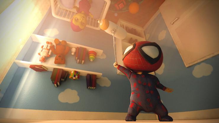 El pequeño Spiderman por Danifrau87