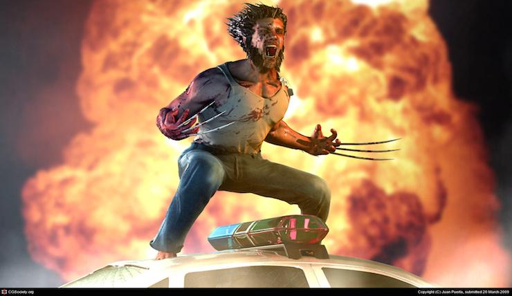 Wolverine por Juan Puerta