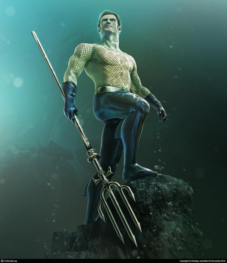 Aquaman por Predrag