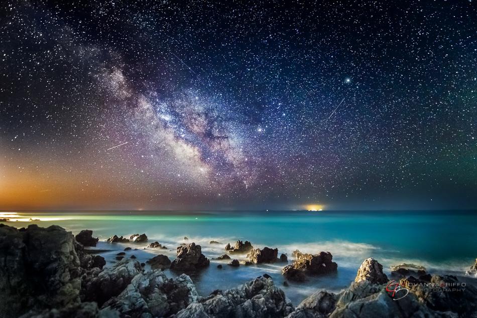 Giovanna Griffo fotos cielo nocturno 1