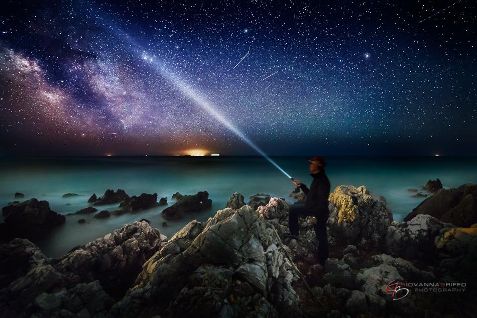 Giovanna Griffo fotos cielo nocturno 2