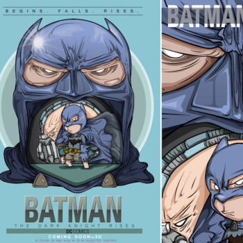 caricaturas superheroes batman