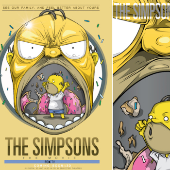 caricaturas superheroes homero