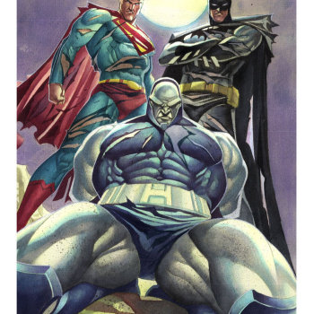 ilustraciones superheroes super_and_batman_x_darkseid