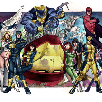 ilustraciones superheroes xmen