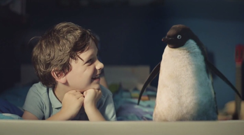 john lewis comercial pinguino