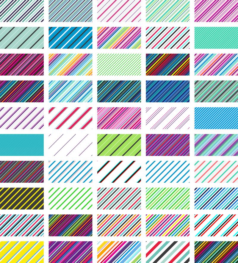patrones de lineas