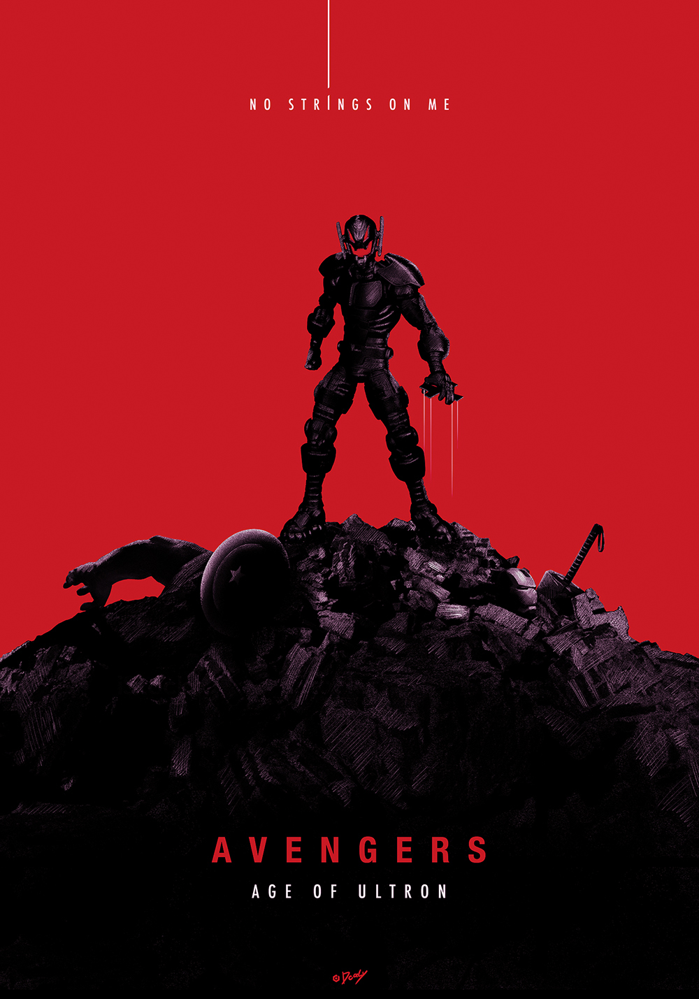 poster fan art age of ultron