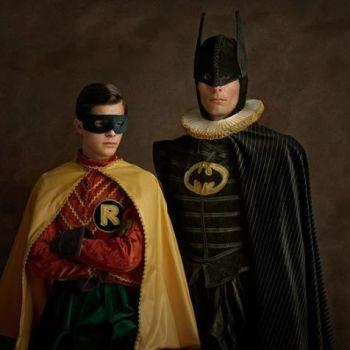 superheroes siglo 16 batman y robin