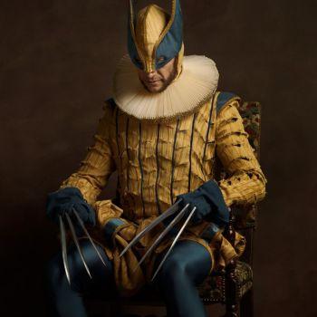 superheroes siglo 16 wolverine
