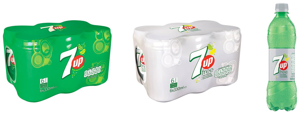 7up packaging