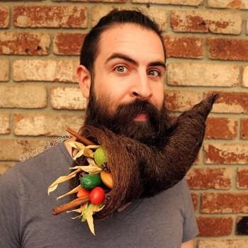 Incredibeard hace arte con su barba img 2