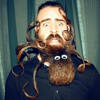 Incredibeard hace arte con su barba img 3