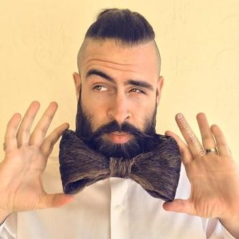 Incredibeard hace arte con su barba img 4