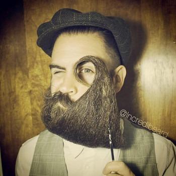 Incredibeard hace arte con su barba img 6