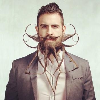 Incredibeard hace arte con su barba img 7