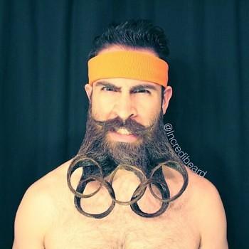 Incredibeard hace arte con su barba img 8