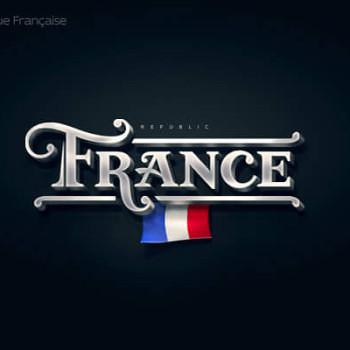 Logos tipográficos de países francia