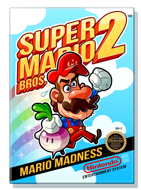 Mathieu Beaulieus super mario bros 2