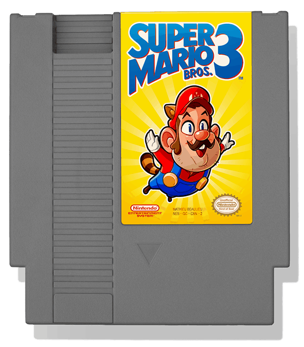 Mathieu Beaulieus super mario bros 3a
