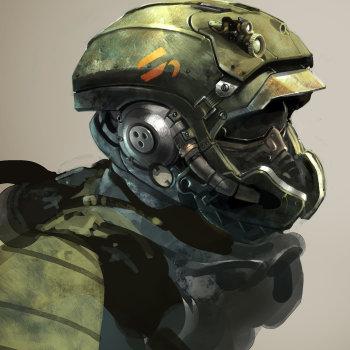 Nicolas Bouvier tech helmet