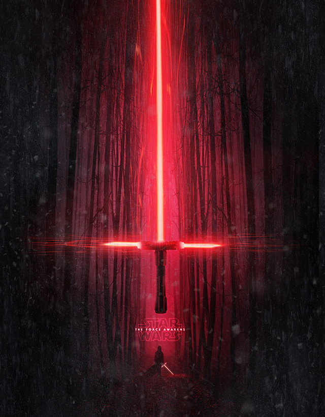 Poster Star Wars The Force Awakens 4