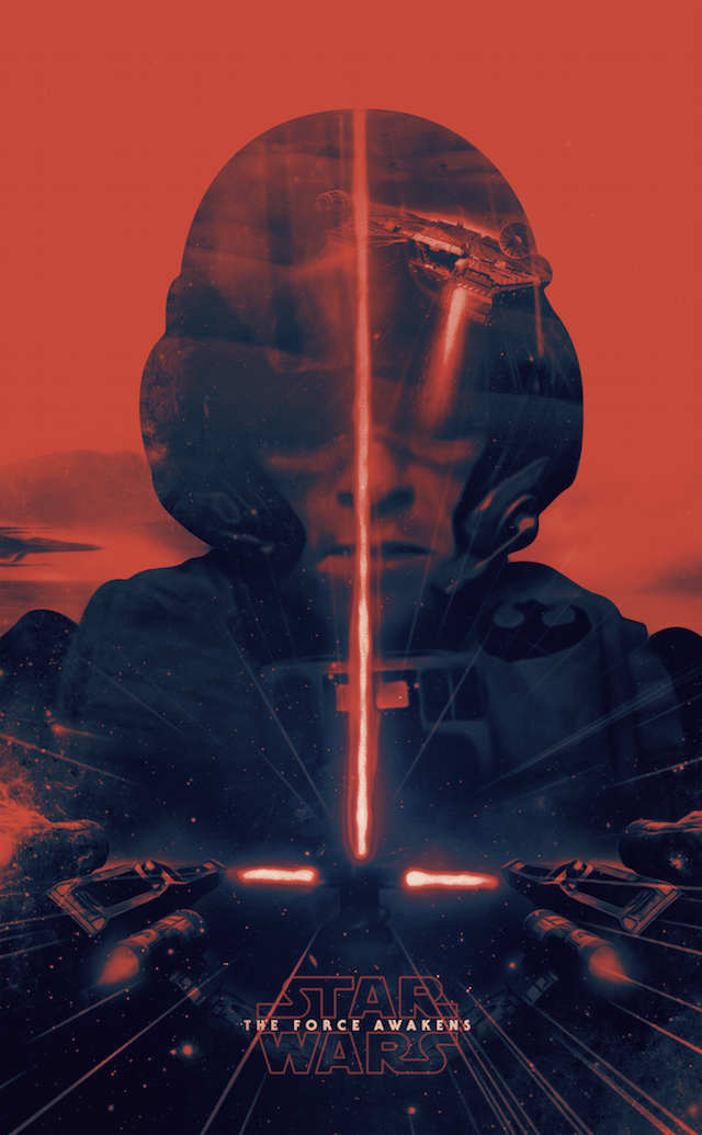 Poster Star Wars The Force Awakens 7