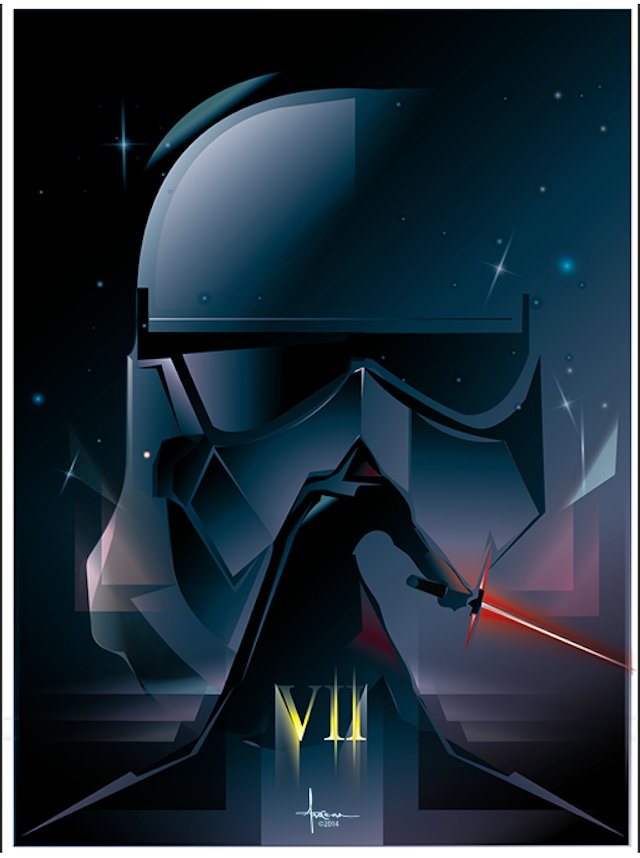 Poster Star Wars The Force Awakens 9