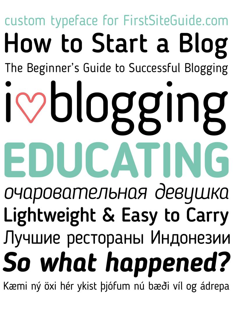 blogger font img 1