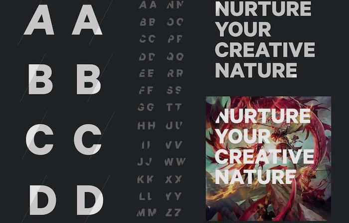 deviantart tipografia