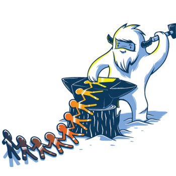 ilustraciones elia colombo yeti