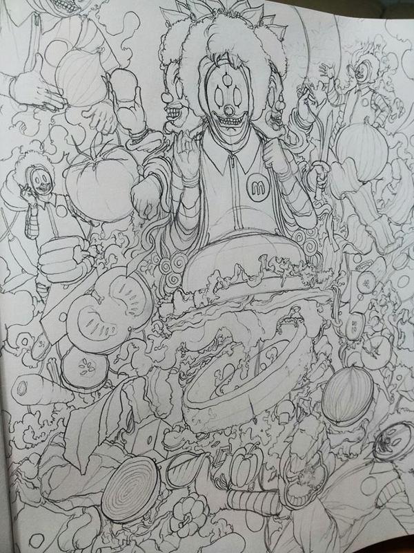 ilustraciones fast food 0