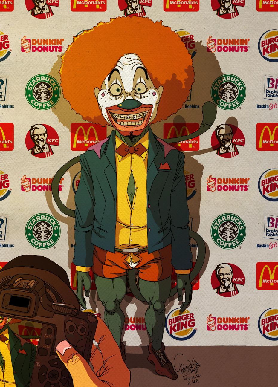 ilustraciones fast food 3